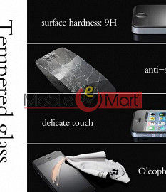 Tempered Glass Screen Protector for Lava Iris 504q Toughened Protective Film