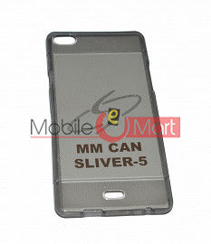 Fancy Mobile Back Cover For Micromax Silver 5