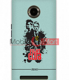Fancy 3D Fight Club Mobile Cover For Micromax Yuphoria