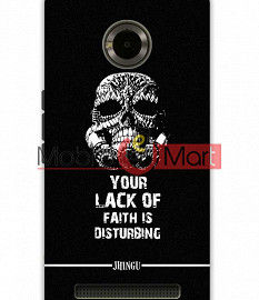 Fancy 3D Darth Vader Mobile Cover For Micromax Yuphoria