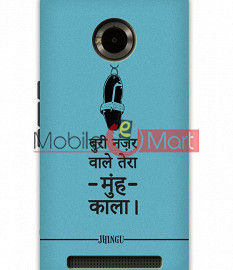 Fancy 3D Buri Nazar Mobile Cover For Micromax Yuphoria