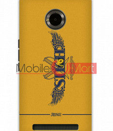 Fancy 3D Proud to be a Sikh Mobile Cover For Micromax Yuphoria