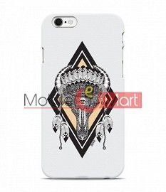 Fancy 3D Buffalo Skull Mobile Cover For Apple Iphone 6 Plus