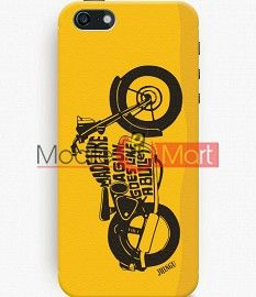 Fancy 3D Royal Enfield Mobile Cover For Apple IPhone 5C