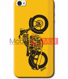 Fancy 3D Royal Enfield Mobile Cover For Apple IPhone 4 & IPhone 4s