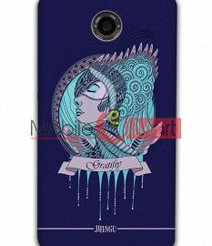 Fancy 3D Warrior Princess Mobile Cover For Google Nexus 6