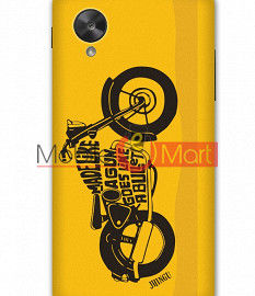 Fancy 3D Royal Enfield Mobile Cover For Google Nexus 5