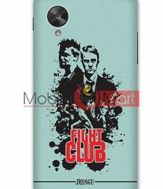 Fancy 3D Fight Club Mobile Cover For Google Nexus 5
