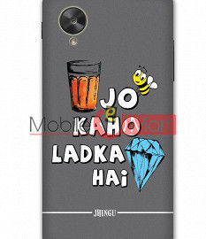 Fancy 3D Ladka Heera Hai Mobile Cover For Google Nexus 5