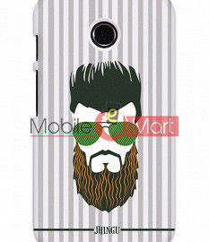 Fancy 3D Hipster Mobile Cover For Motorola Moto E