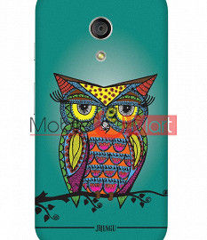 Fancy 3D Colorful Owl Mobile Cover For Motorola Moto G