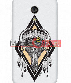 Fancy 3D Buffalo Skull Mobile Cover For Motorola Moto G