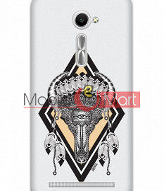 Fancy 3D Buffalo Skull Mobile Cover For Asus Zenphone 2