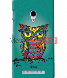 Fancy 3D Colorful Owl Mobile Cover For Asus Zenphone 5