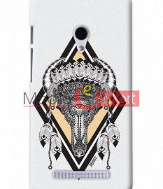 Fancy 3D Buffalo Skull Mobile Cover For Asus Zenphone 5
