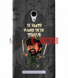 Fancy 3D Gabbar Mobile Cover For Asus Zenphone 6