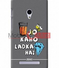 Fancy 3D Ladka Heera Hai Mobile Cover For Asus Zenphone 6