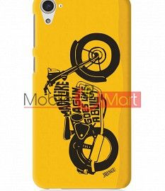 Fancy 3D Royal Enfield Mobile Cover For HTC Desire 826