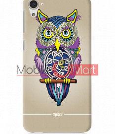 Fancy 3D Designer Owl Mobile Cover For HTC Desire 826