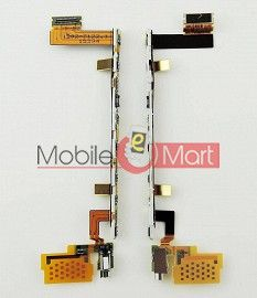 Power On Off Volume Button Key Flex Cable For Sony Xperia Z5