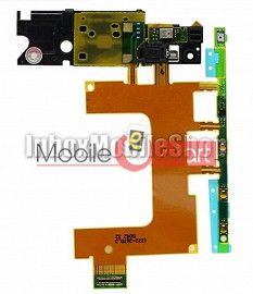 Power On Off Volume Button Key Flex Cable For Xperia Zr