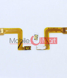Power On Off Volume Button Key Flex Cable For Oppo F1 Plus
