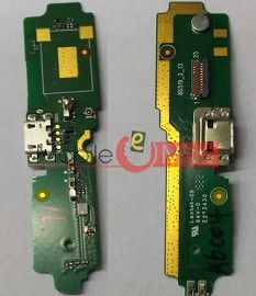 Charging Connector Port Flex Cable For Micromax YU Yureka AO5010