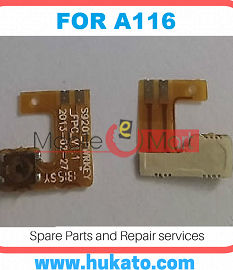 Power On Off Volume Button Key Flex Cable For Micromax A116