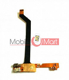 Charging Connector Port Flex Cable For Intex Power Plus