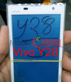 Vivo Y28 touch screen wothout lcd display
