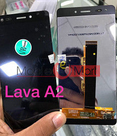 Lcd Display With Touch Screen Digitizer Panel For Lava Iris Atom 2