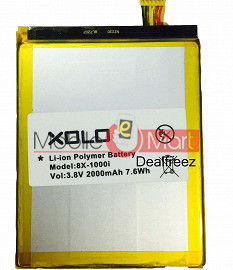 Mobile Battery For Xolo 8X-1000