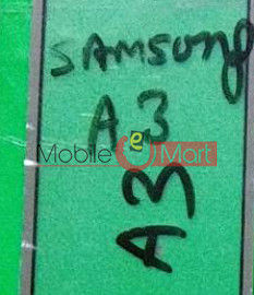 Touch Screen Digitizer For Samsung Galaxy A3