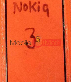 Touch Screen Glass For Nokia 3