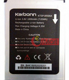 Mobile Battery For  Karbonn Titanium S201 Dazzle