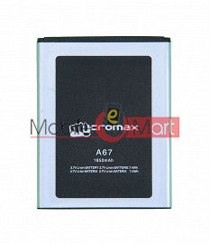 Mobile Battery For Micromax A67