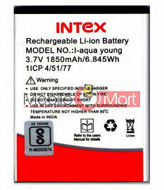 Mobile Battery For Intex Aqua Young