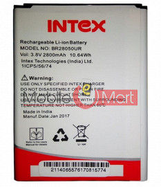 Mobile Battery For Intex Aqua Young 4G