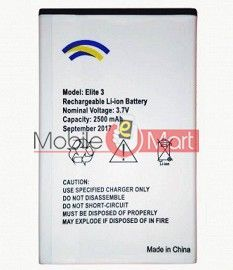 Mobile Battery For Swipe Elite 3