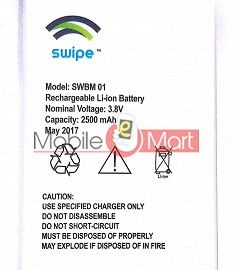 Mobile Battery For Swipe Elite 4G
