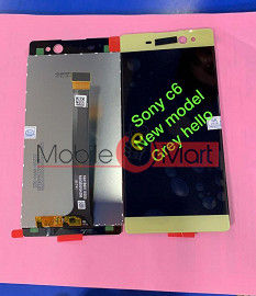 Lcd Display With Touch Screen Digitizer Panel For Sony Xperia C6