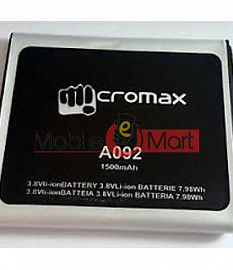 Mobile Battery For Micromax A092 Unite