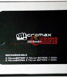 Mobile Battery For Micromax Bolt Q331