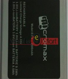Mobile Battery For Micromax Canvas 1 C1