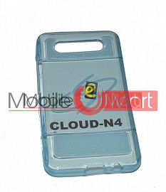Mobile Back Cover For Intex Cloud N4
