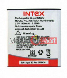 Mobile Battery For Intex Aqua 3G Pro