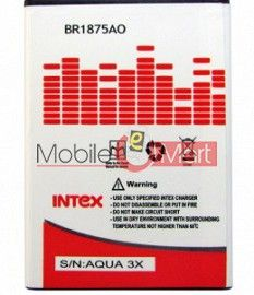 Mobile Battery For Intex Aqua 3X