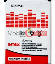 Mobile Battery For Intex Aqua i7