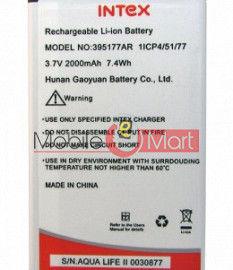 Mobile Battery For Intex Aqua Life II 2