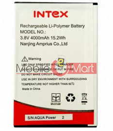 Mobile Battery For Intex Aqua Power 2